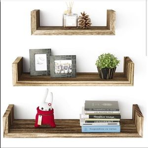 🎀 NEW FARMHOUSE WALL DECOR Floating Shelves 🎀